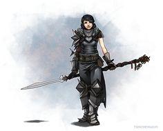 lady hawke is very nice C: by ~tsaizheng on deviantART