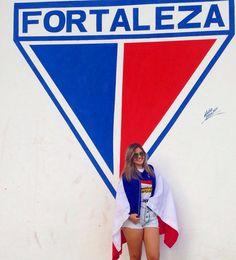A Leonina @anaclara_l foi matar a saudade dos jogos do Leão! ❤️ #Fortalezaec #leoninasfec #cheerleaders