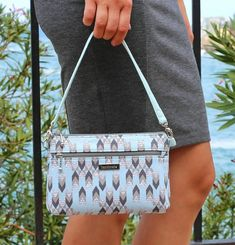 Small Zipper Handbag - Zipper Purse - Denver Double Zip Bag - PDF Sewing Pattern