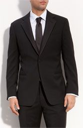 Worth the investment:  Armani tuxedo from Collezioni 'Giorgio.' Slim fit with notch lapel tuxedo. #menswear #mensfashion2013 #suits