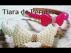 DIY: Coroa De Pérolas - crown pearl - Parte 01 - YouTube