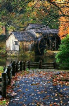 MIll - Looks like a beautiful peaceful place