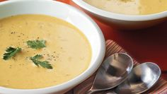 Pumpkin Ginger Soup. Serves 4. Total Cost: $3.38