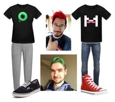 """""""Mark And Jack"""" by slytheringirlriddle ❤ liked on Polyvore featuring Sweaty Betty, Vans, Scotch & Soda and Converse"""