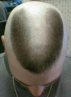 My New High And Tight Horseshoe Haircut Horseshoe