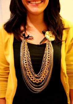 statement necklace diy