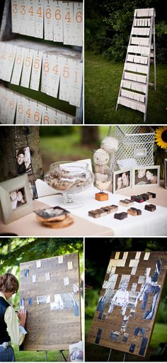 OMG wicked awesome guest book idea!