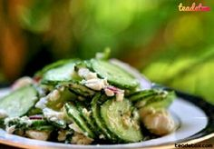 Cucumber Salad with Mint and Feta.. Happy Eating!!