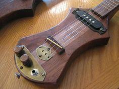 Marshall Hammett steampunk ukulele