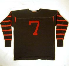 "Princeton University Football Jersey used in the movie ""Leatherheads"" Vintage Sports Clothing, Vintage Jerseys, Vintage Football, Basketball Jersey Outfit, Football Jerseys, Bohemian Style Men, American Football Jersey, Rocker Look, Mama Cloth"