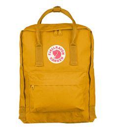 Ochre Classic great summer colour! http://www.ilovemykanken.com/shop/products/kanken-classic-ochre.htm