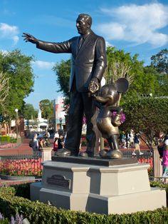 Partners, Magic Kingdom, Walt Disney World.  Photo by Don Beene.