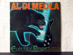 Al Di Meola - Electric Rendezvous. Near Mint- 1982 vintage vinyl LP 33 record album. Jazz fusion, Flamenco w/ Paco de Lucia and Jan Hammer. by AbqArtistry on Etsy