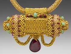 Amphora Designs, Beadwork & Workshops by Maggie Meister - Inspired by ancient mosaics, frescoes and jewelry.