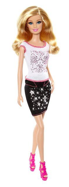Barbie - Purpurina fashion, decora sus vestidos (Mattel): Amazon.es: Juguetes y juegos