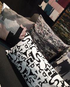#tbt #100percentdesignsa2018 | let's take a selfie- say cheese😆 The Neutrals  Throwpillows: Ouarzazate (neutral pink). Namaqua (neutral). UTurn (black and white). Gidan Sarki (black and white). . . . . #zuriandimani #zuriandimanifabrics #zuriandimanihome #homedecor #decor #homedecoration #surfacedesign #textiledesign #patterndesign #madeinafrica #africanprints #prints #printdesign Take That, Let It Be, Surface Pattern Design, Textile Design, Ceramic Art, Print Design, Neutral, Interior Decorating, Weaving