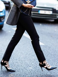 The simplest way to last an entire day in stilettos.