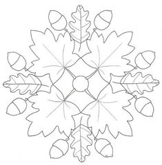 Autumn mandala coloring pages page egg ideas for toddlers christmas tree Mandala Coloring Pages, Colouring Pages, Coloring Pages For Kids, Coloring Books, Leaf Coloring, Wool Applique, Applique Patterns, Quilt Patterns, Toddler Christmas