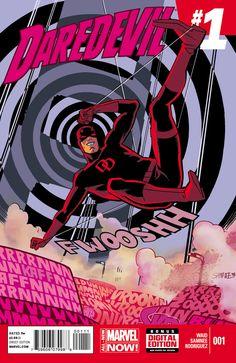 Daredevil 2014 #1. Chris Samnee