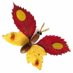 Autumn Leaves Craft, Autumn Crafts, Fall Crafts For Kids, Autumn Art, Nature Crafts, Spring Crafts, Toddler Crafts, Art For Kids, Autumn Activities