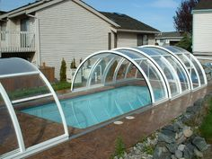 pool overhead cover - Google Search