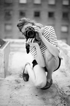 This is what I look like trying to get a good shot. Haha!