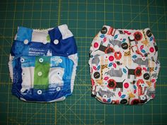 Simple Diaper-Sewing Tutorials--lots of free diaper patterns too!