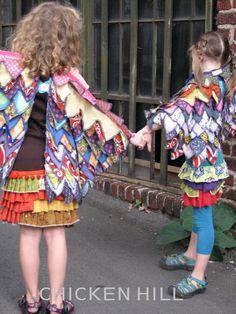 fun wing cape pattern