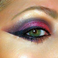 Studio 54 love this seventies makeup