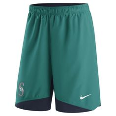 Seattle Mariners Nike Authentic Collection Dry Woven Performance Shorts -  Teal