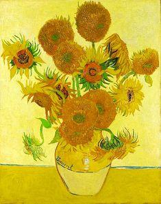 Van Gogh, Vincent (1853-1890) - 1888 Vase with Fifteen Sun… | Flickr