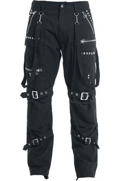 "Gothicana by EMP Cargo Trousers ""Zipper Studs"" bla. - Gothicana by EMP Cargo Trousers Zipper Studs bla. Teenage Outfits, Teen Fashion Outfits, Kpop Outfits, Edgy Outfits, Mode Outfits, Grunge Outfits, Girl Fashion, Girl Outfits, Punk Fashion"