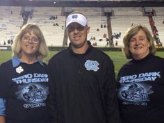 Casey, Shawn and I at the ZERO DARK game against Miami Oct. 17, 2013