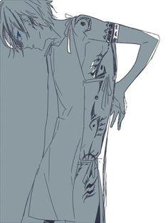 Miyamura Izumi tattoo