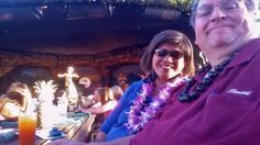 Smith and I in a little Hula Heaven.....