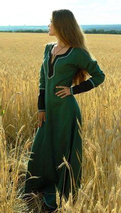 Lady Tunic medieval clothing renaissance costume, without belt