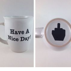 Have a nice day! Please note: each much you see in the pictures will look AS CLOSE AS POSSIBLE to the mug you receive in the mail please remember as all other mugs too, each mug is bought plain and crafted with a ton of love and dedication! Note sure about the mug? Check out my love notes and ratings !❤️ Other