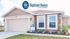 Take a virtual tour of the Oleander II by Highland Homes - Florida new homes designed for your life! The Oleander II boasts sq. of modern open living space and includes 3 bedrooms, 2 baths, 2 car garage and a covered lanai.