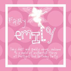 Custom Fairy Creations ~ Simply Sprout put on pixie dust gift bags
