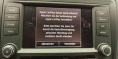 Apple Carplay im Test im Seat Ibiza.