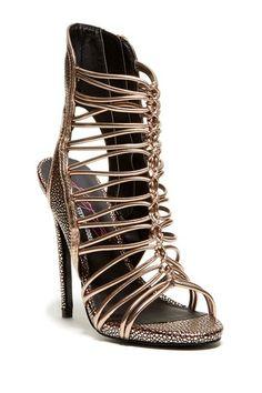 Keyshia Cole for Steve Madden Movit Gladiator Sandal by Steve Madden on @HauteLook