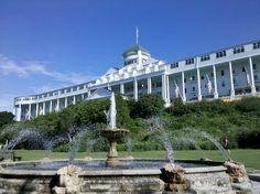 The Grand Hotel...Mackinac Island, MI