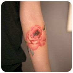 Tatouage aquarelle bras