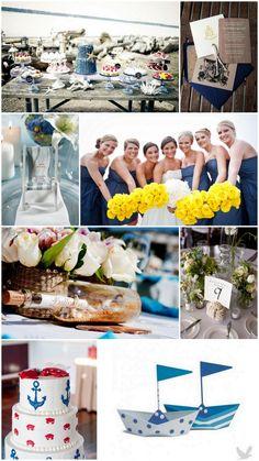 Nautical Theme Weddings