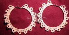 Berenike's Hobby: Crochet Hoop Earrings