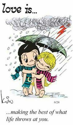 Sunshine in the rain...