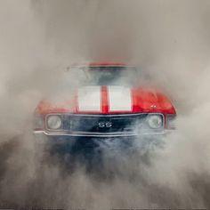 1972 SS Chevelle shrouded in its own fog Lamborghini, Ferrari, Car Backgrounds, Iphone Background Images, Picsart Background, 1972 Chevelle, Camaro Ss, Chevrolet Corvette, Gm Car