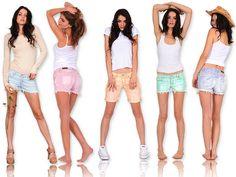 Os shorts jeans são peças versáteis que podem ser usadas o ano todo e em qualquer estação.Eles são as peças mais óbvias no verão, sem dúvidas são