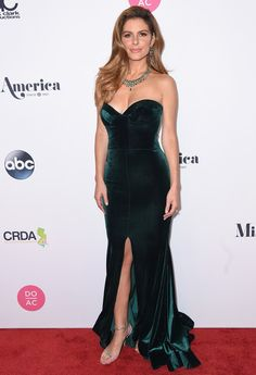 Judge, Journalist Maria Menounos attends the 2018 Miss America Competition Red Carpet at Boardwalk Hall Arena on September 10, 2017 in Atlantic City, New Jersey.