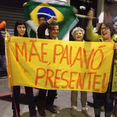Mom, Dad and Grandma this here! #BRAZIL #VEMPRARUA #MANIFESTACAO2013